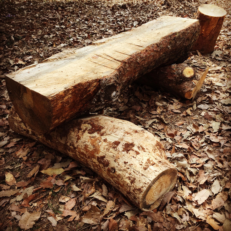 四角いベンチ