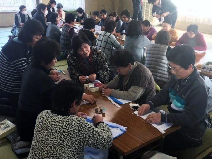 クッション作り教室in利田