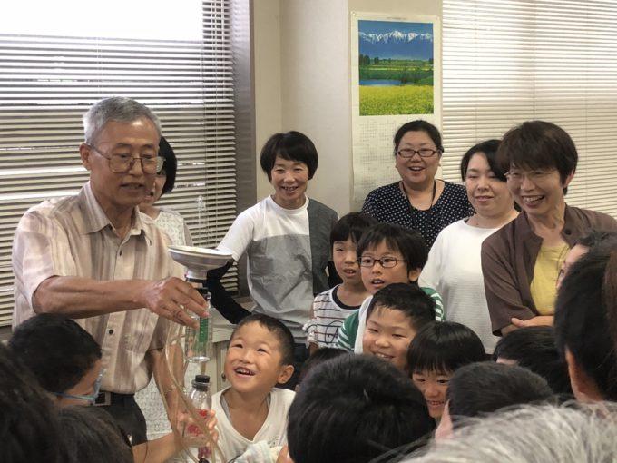 光陽公民館で実験工作教室実施!