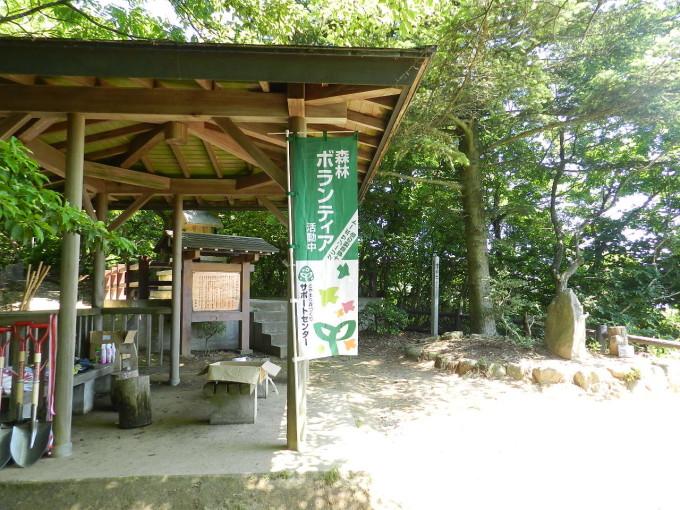 今年度3回目の万葉植物園整備事業