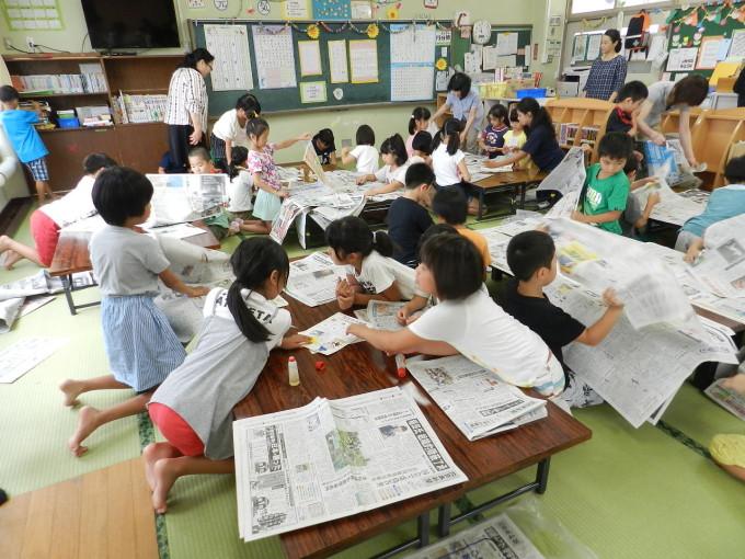 ひばり児童育成クラブ新聞ふれあい教室
