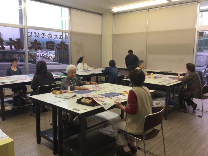 KS蜷川でエコバック教室を開催