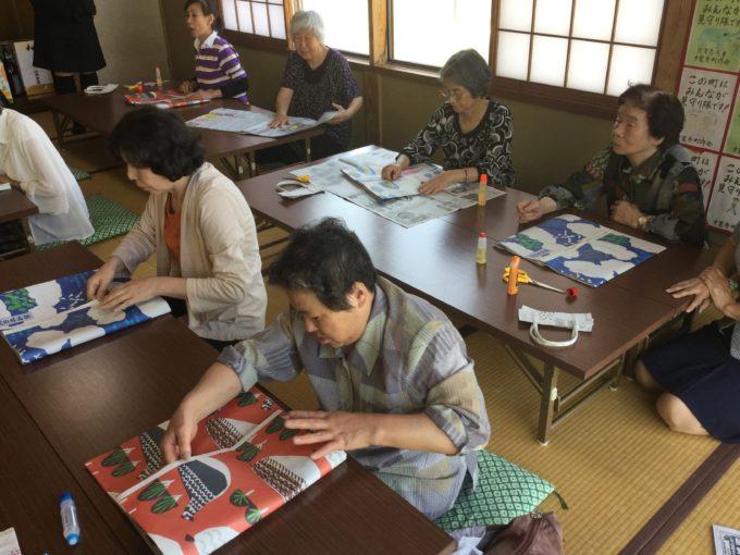 才覚寺公民館 エコバック教室開催