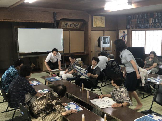 石田月曜会エコバック教室