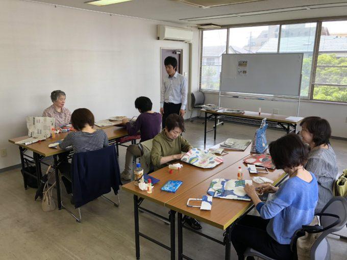 KS富山でエコバック教室を開催!!