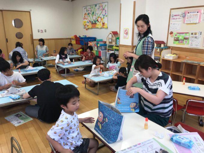 五福児童館でエコバック教室を開催!